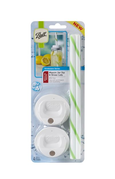 Ball® Sip And Straw Lids