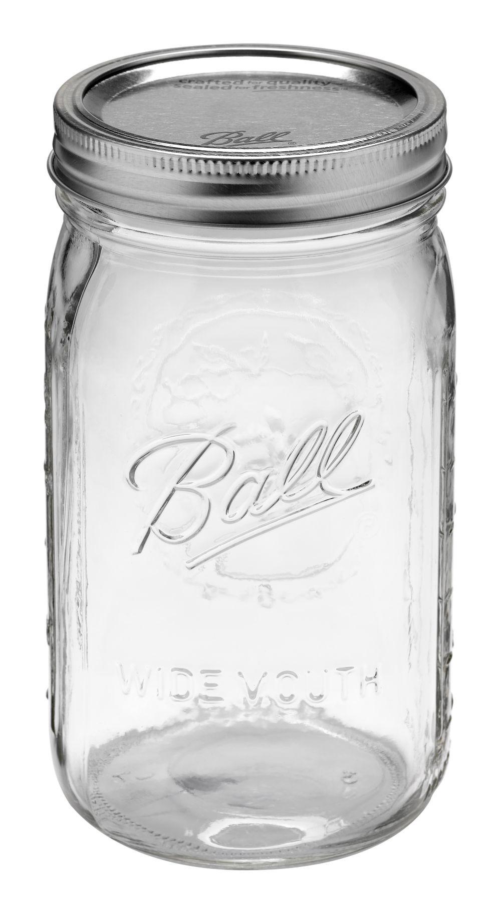 Ball® Wide Mouth 32oz Quart Jars