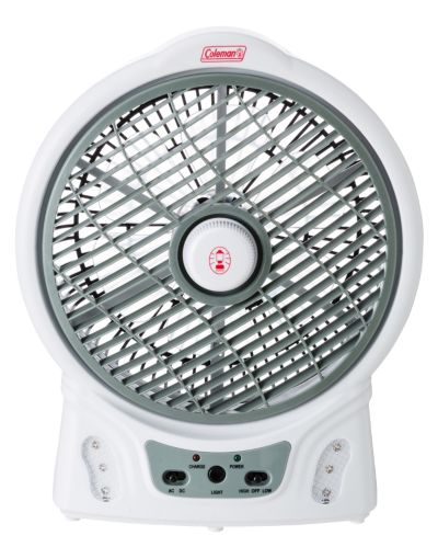 "8"" Rechargable Fan With LED"