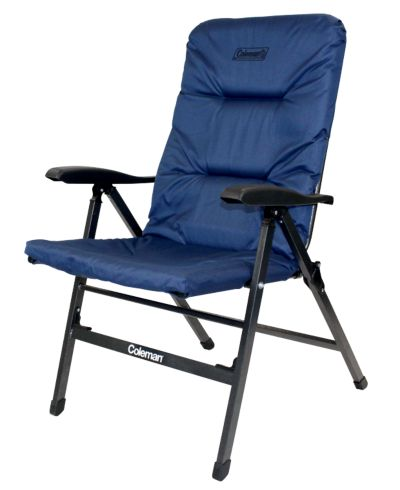Chair Flat Fold Pioneer Recliner (Navy)