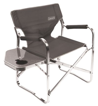 Chair Flat Fold Directors Plus (Grey)