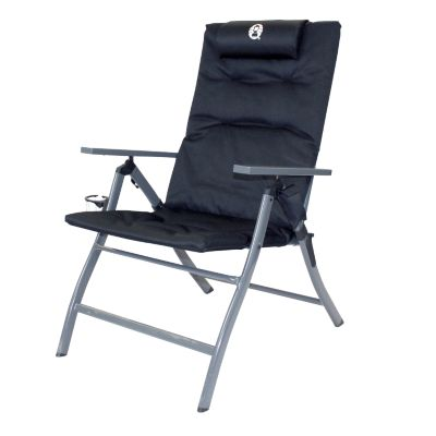 Chair Flat Fold 5 Position with GlassP™ Black