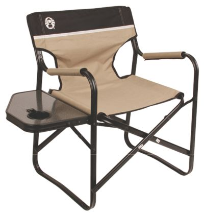 Chair Flat Fold Steel Deck Chair