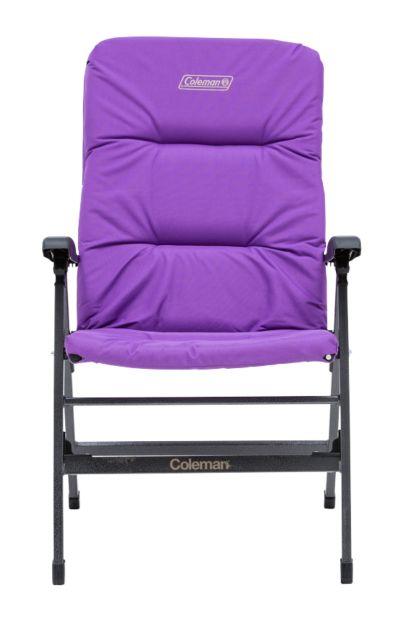 Chair Flat Fold Pioneer Recliner (Purple)