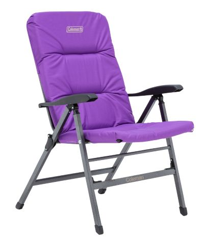 Chair Flat Fold Pioneer Recliner (Purple)