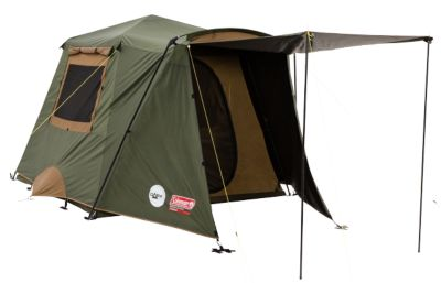 Tent Instant Up™ 4P Gold Series - Front Pole Vestibule Dark Room