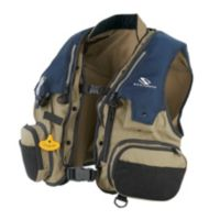Deluxe Manual Inflate Fishing Vest 33 Gram