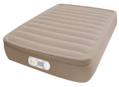 Airbed with Built-in Extra-Life Pump - Twin
