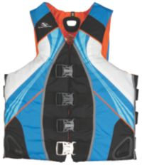 Adult Men's Illusion Vest-Blue/Grey