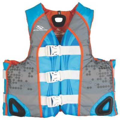 Adult Womens Illusion Vest L. Blue/ L. Grey