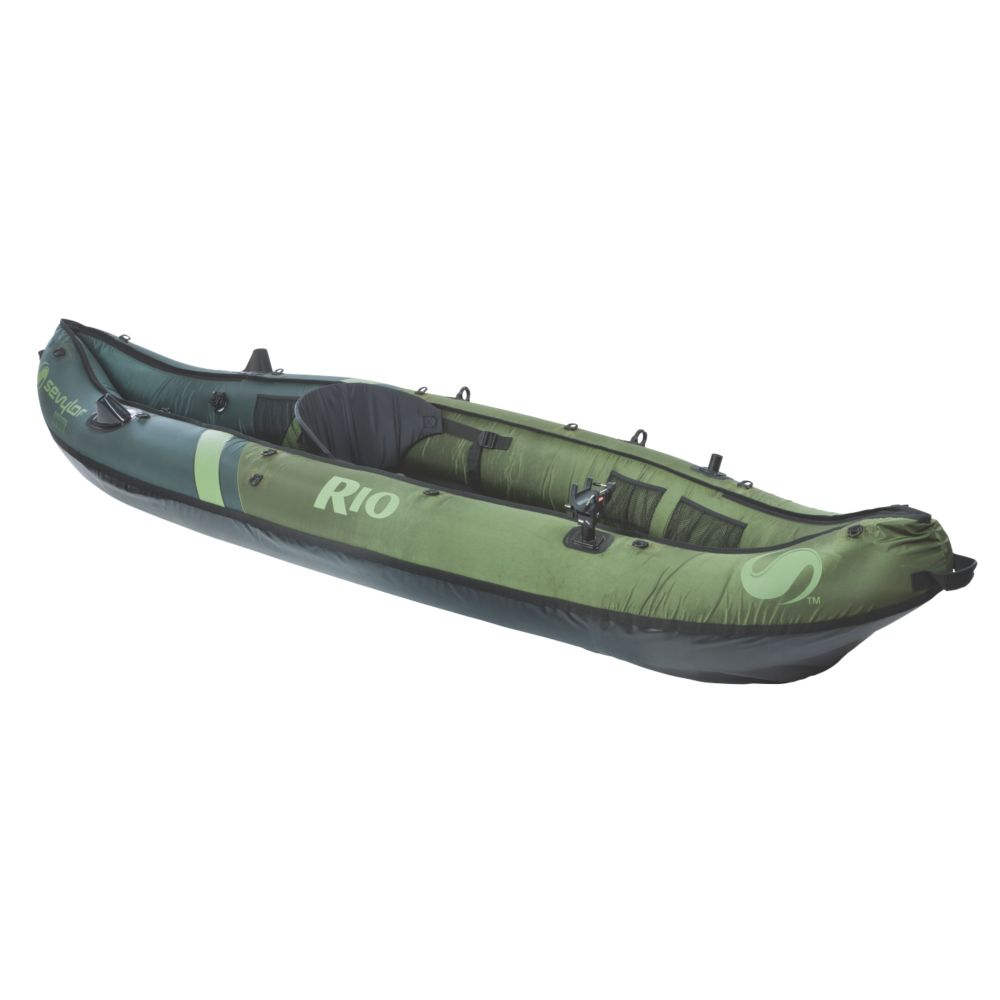 Rio 1 person fishing canoe usa for Fishing kayak walmart