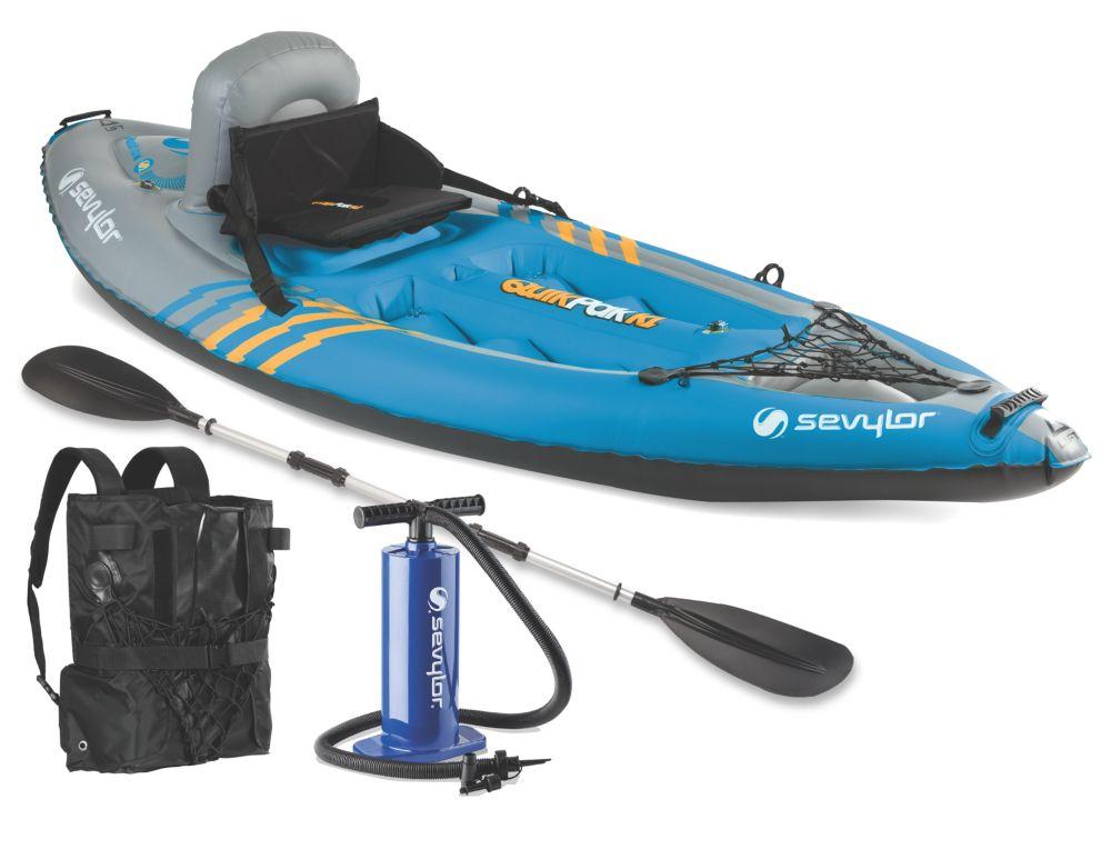 QuikPak™ K1 Coverless Sit-On-Top Kayak