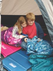 Youth Self-Inflating Camp Pad