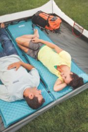 4-in-1 Double Self-Inflating Camp Pad
