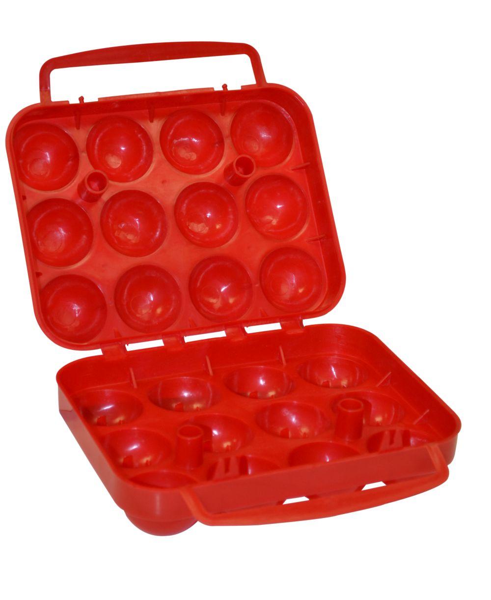 Contenant de camping pour 12 œufs