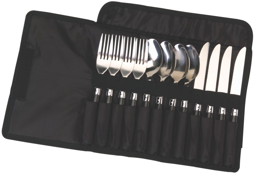 12-Piece Stainless Steel Flatware Set