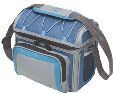 6 Can Blue Soft Sided Cooler