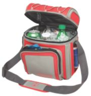 9 Can Soft Sided Cooler-Red