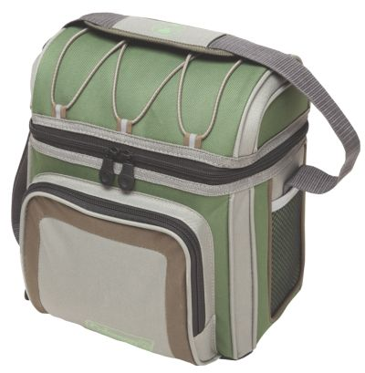 9 Can Soft Sided Cooler-GREEN