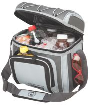 12 Can Soft Sided Cooler-GREY