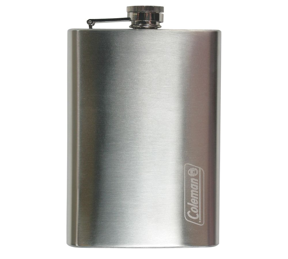 8-Oz. Stainless Steel Flask
