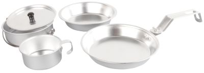 5-Piece Aluminum Mess Kit