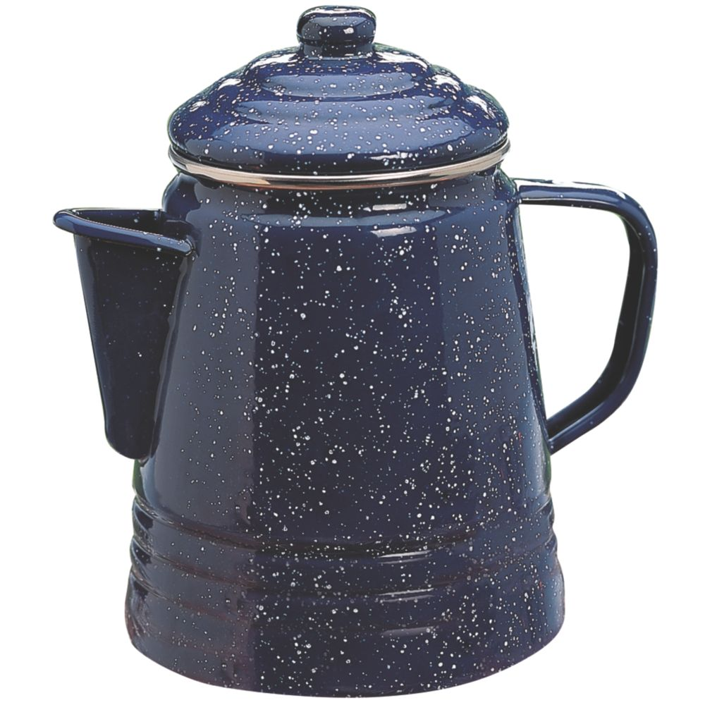 percolator cup coffee coleman stainless propane camping maker steel pot coffeemaker brew stable boat moka