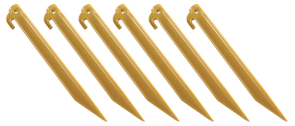 9-In. ABS Tent Stakes