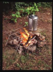 Deluxe Camp Grill