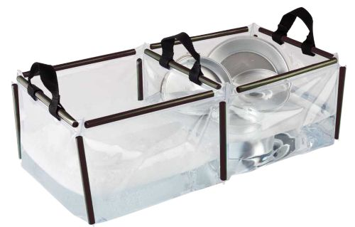 Folding Double Wash Basin