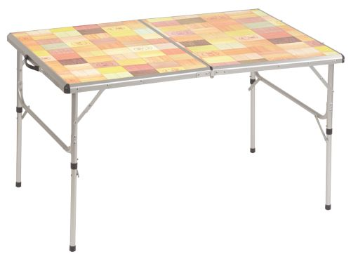Outdoor Folding Table with Mosaic Top
