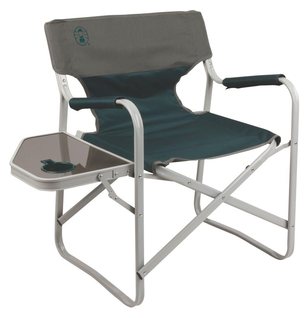 Chaise tablier métallique w / Table Forêt