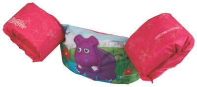 Puddle Jumper® Deluxe 3D Life Jacket - Hippo