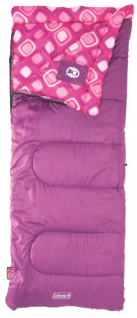 SLEEPING BAG RECTANGULAR YOUTH GIRLS