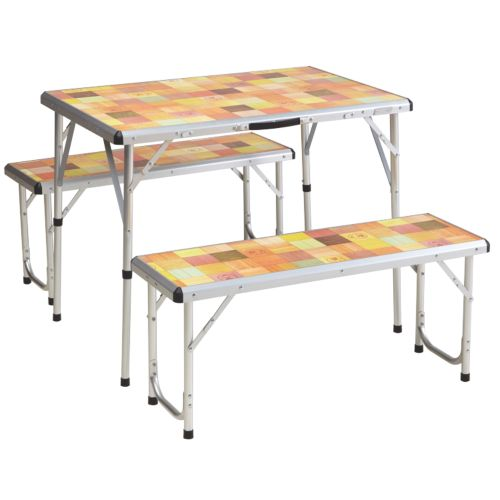 Compact Folding Table Deck Chair With Table Coleman