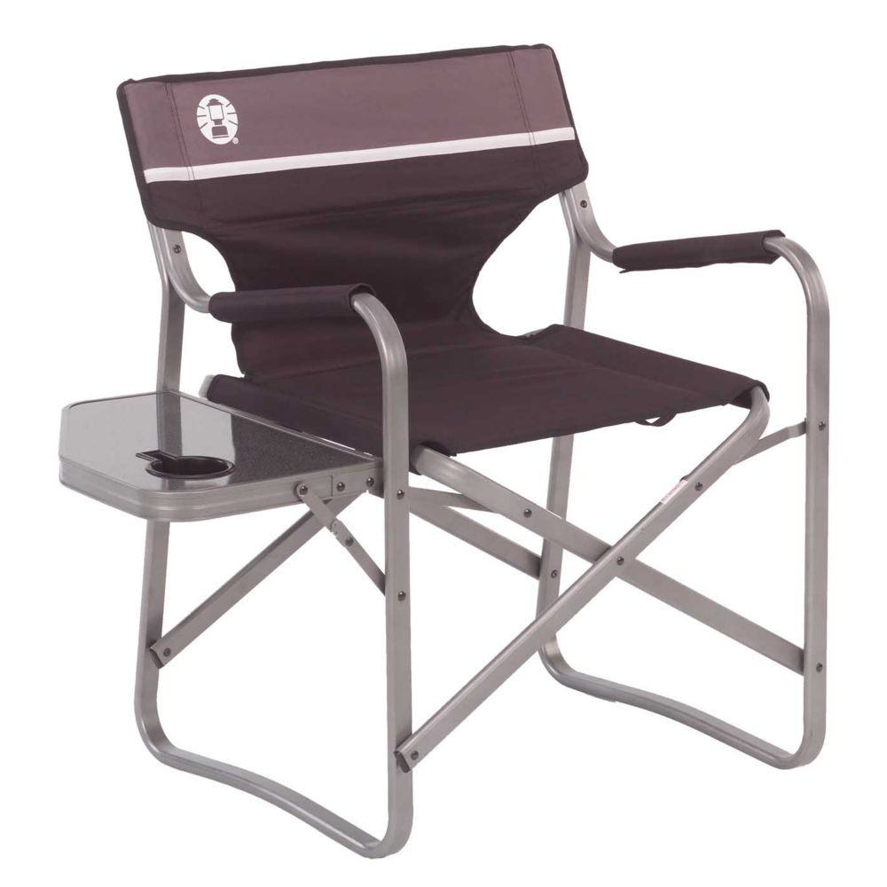 Deck Chair With Table Aluminum Chairs Coleman