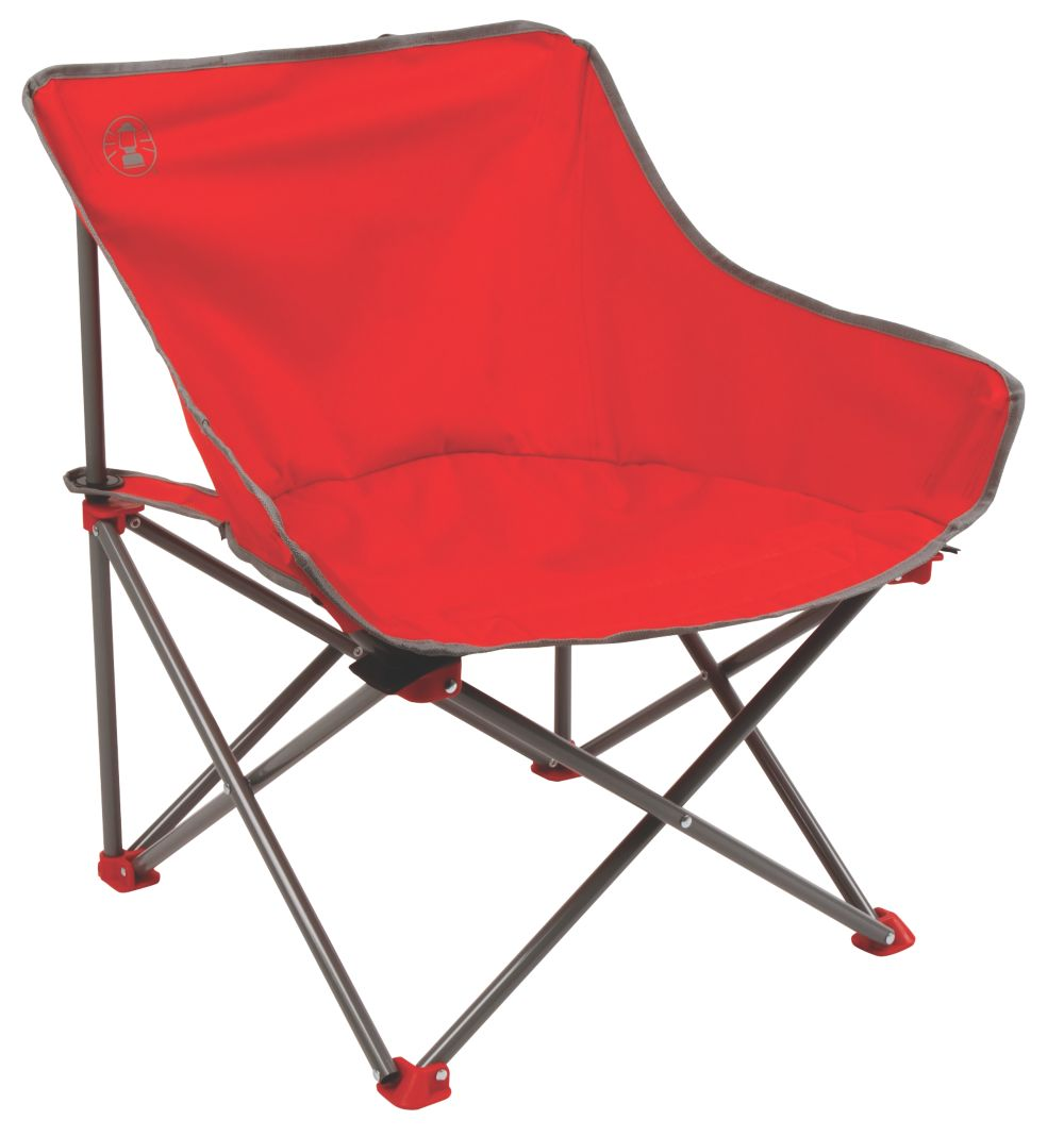 Chaise rouge rebond