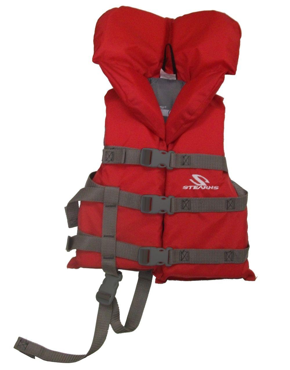 Child Nylon Vest -  Red