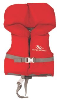 Infant Nylon Vest - Red