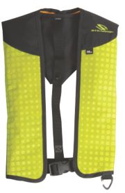 Adult Nylon  24 Gram Manual Inflate Vest Universal - Kiwi Green