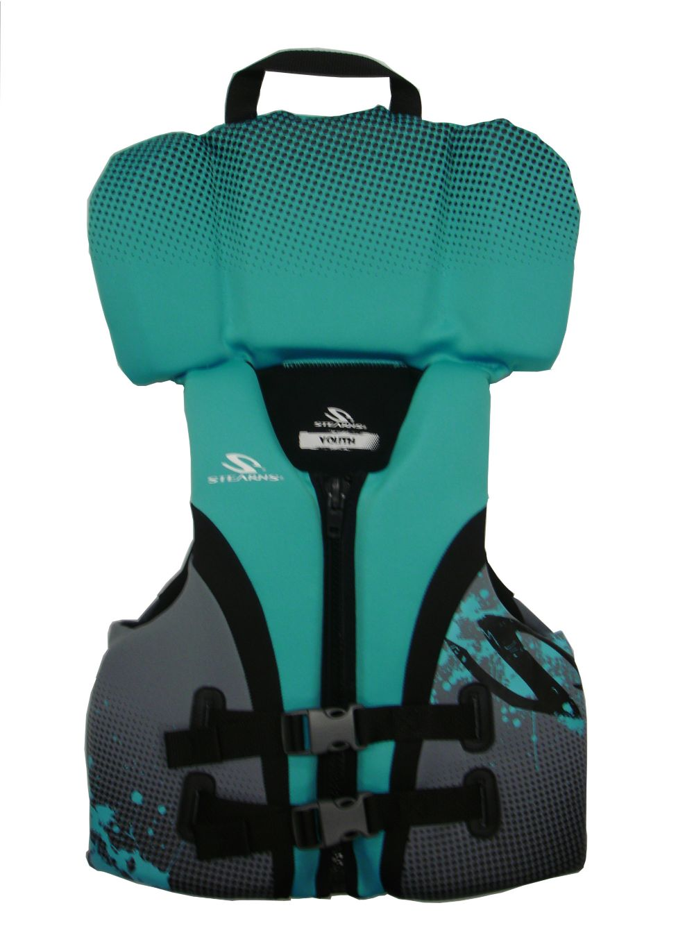 Youth Hydroprene Vest-Blue/Black