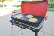 Rugged Non-Stick Steel Griddle