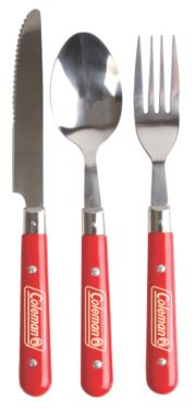 Rugged 12-Piece Stainless Steel Utensil Set