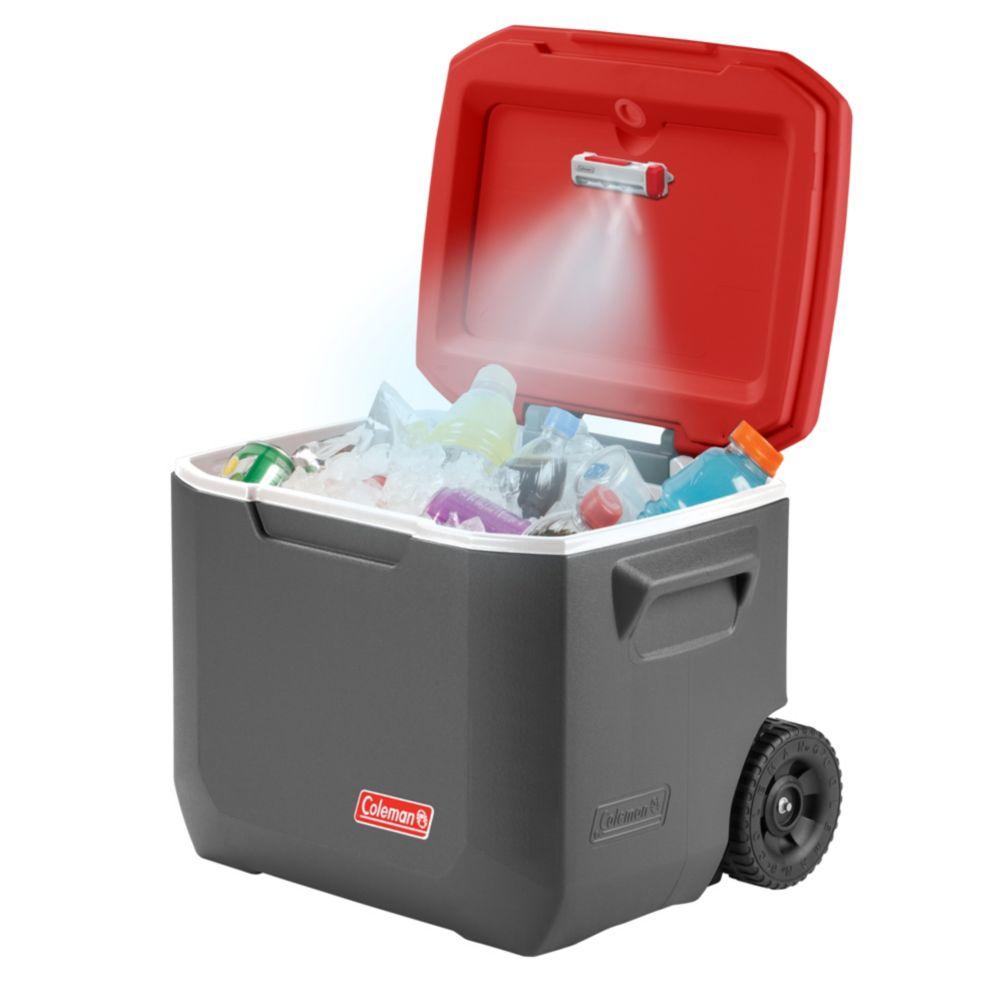 Cooler on wheels beverage cooler coleman for Coole accessoires