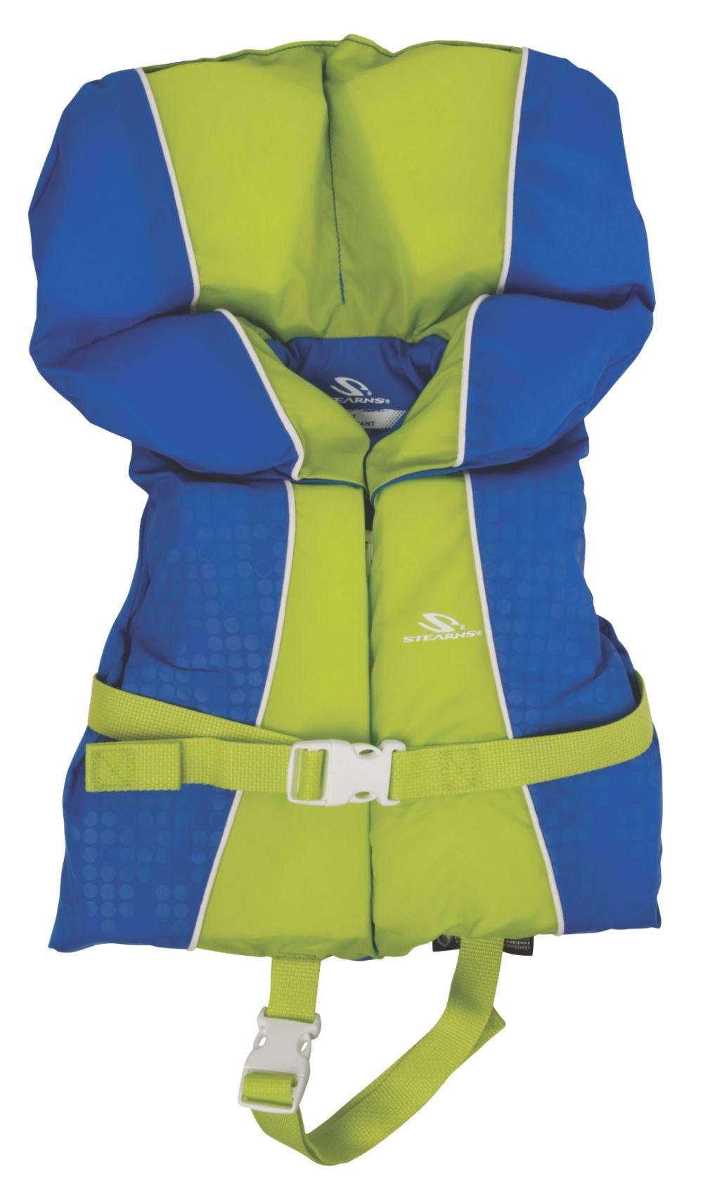 Infant Nylon Vest- Blue/Green
