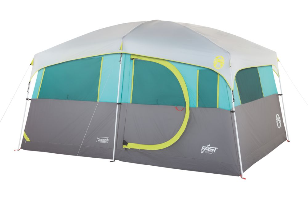 Tenaya Lake™ Lighted Fast Pitch™ 8-Person Cabin with Closet