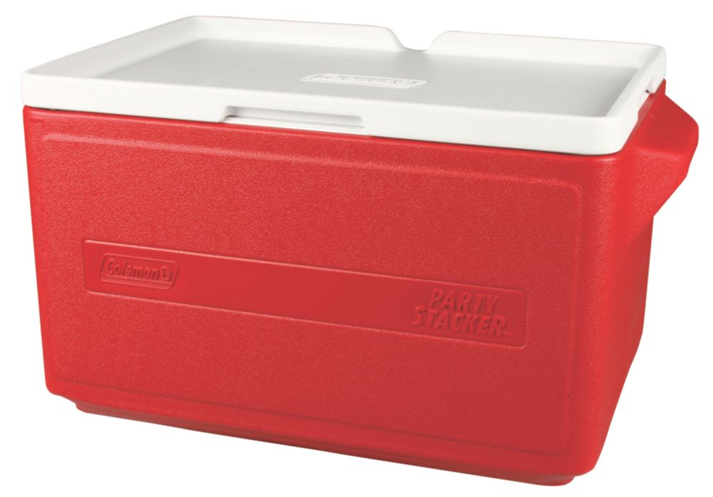 48 Can Party Stacker™ Cooler - Red