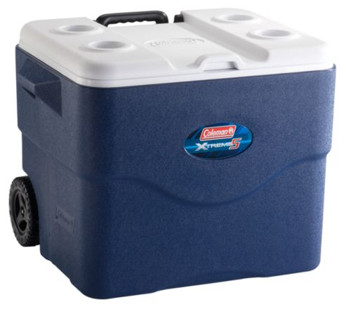 75 Qt Wheeled Xtreme® 5 Cooler - Dark Blue