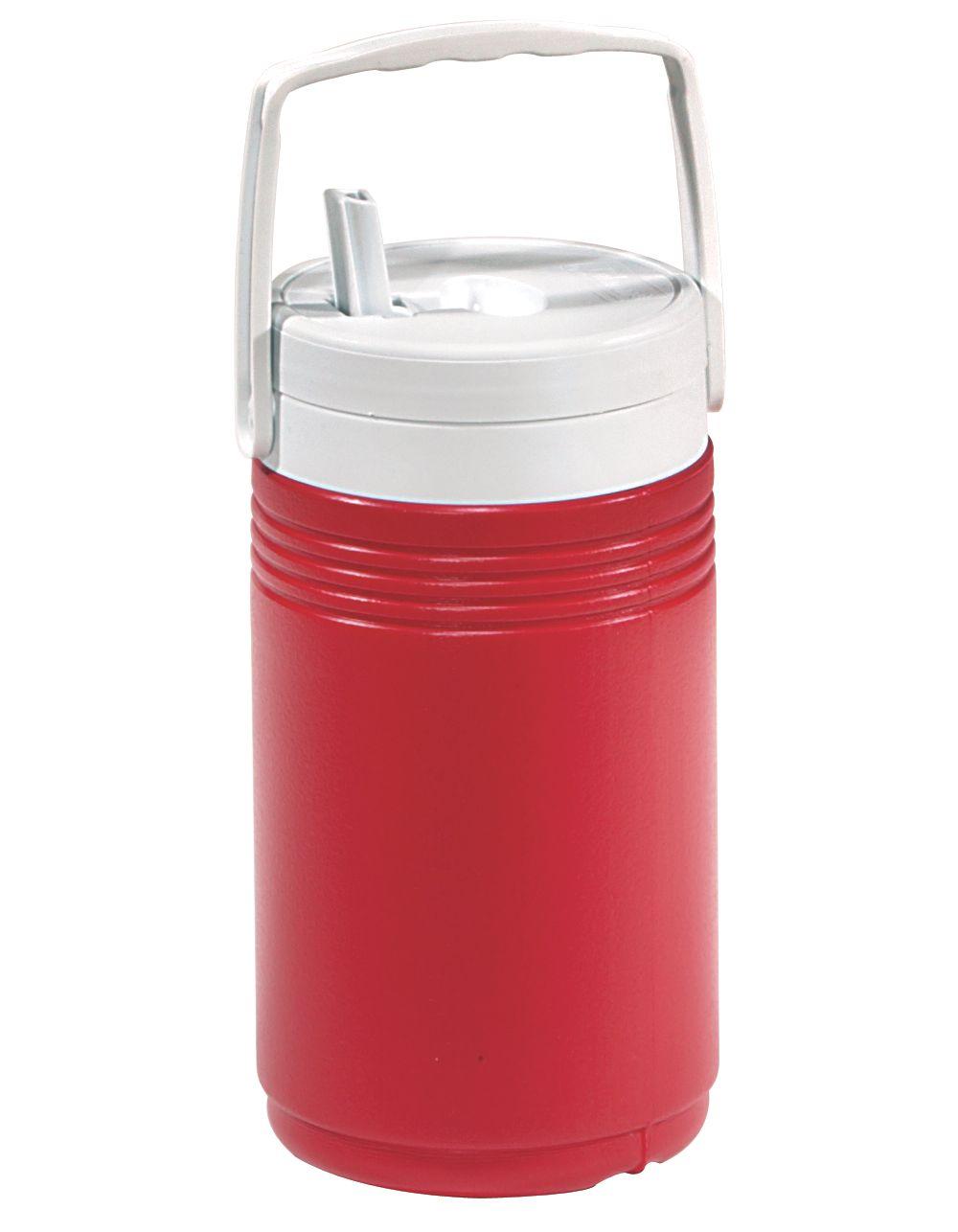 1/2 Gallon Beverage Jug - Red