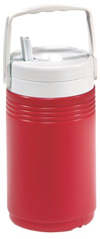 1/2 Gallon Beverage Jug - Red